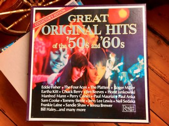 Great Hits Original of the 50s and 60s Vinyl