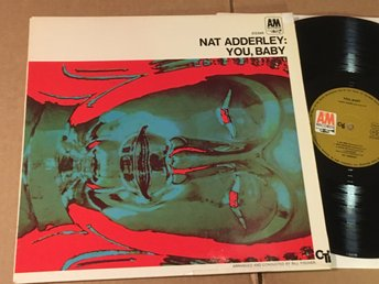 NAT ADDERLEY you, baby LP -68 Ger A&M/CTI 212 045