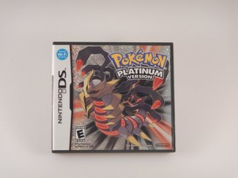 Nintendo DS  --  Pokemon Platinum  --  U.S