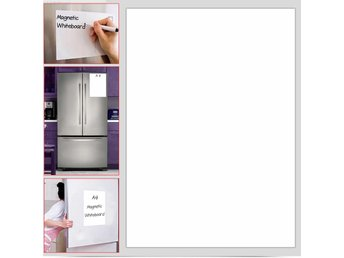 Magnetic Whiteboard Plain Dry Wipe