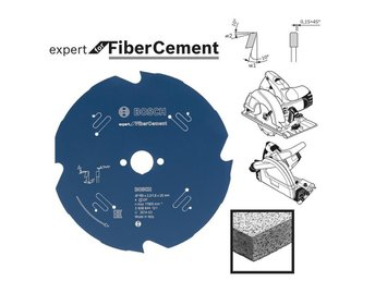 Cementsåg Bosch Expert for Fiber Cement; Ø190 mm