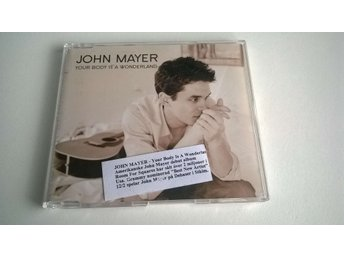 John Mayer ‎- Your Body Is A Wonderland, Single, Promo, CD