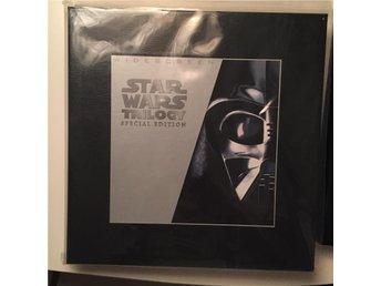 LASERDISC Star Wars 4 5 6 BOX - SIGNERAD!! Limited Edition - Höllviken - LASERDISC Star Wars 4 5 6 BOX - SIGNERAD!! Limited Edition - Höllviken