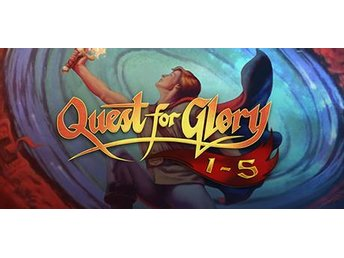 Quest for Glory 1-5 (PC Steam Kod) 1989 Ny