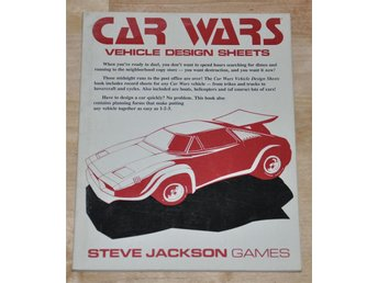SJG 7146 Car Wars Vehicle Design Sheets
