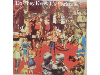 Band Aid-Do they know it's christmas? / 3-låtars 12""