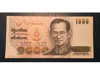 Thailand 1000 Baht 1992 Unc. Commemorative. Sirikit 60 years. Kvalitet 0.