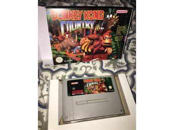 Donkey Kong Country SCN SNES