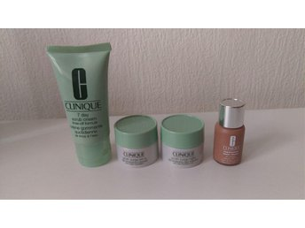 Clinique 7 day scrub, Youth surge night och day spf 15, Repair wear laser focus