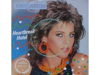 C.C. Catch title*  Heartbreak Hotel *Euro-Disco Denmark 7""