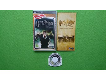 Harry Potter and the Order of the Phoenix KOMPLETT Psp Playstation Portable