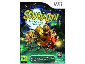 SCOOBY DOO AND THE SPOOKY SWAMP (komplett) till Nintendo Wii