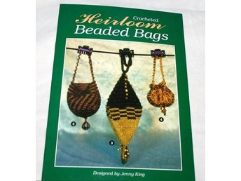 Crocheted Heirloom Beaded Bags VINTAGE 90-tal,