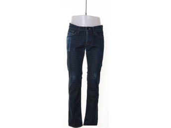 jeans med extra långa ben