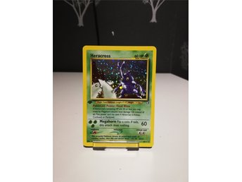 Heracross - 6/111 - Holo 1st Edition Neo Genesis 1st Edition
