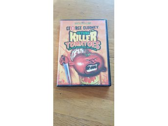 dvd RETURN OF THE KILLER TOMATOES (1988) George Clooney
