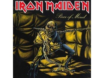 IRON MAIDEN - PIECE OF MIND. NEW LP.