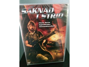 SAKNAD I STRID (MISSING IN ACTION) 1984 Chuck Norris Sv. text *Ny & Inplastad*