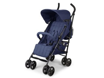CHILDWHEELS Barnvagn RC LB FR canvas blå CWB5CBL