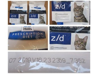 4 KG 2x2 st Hill's Prescription Diet Feline z/d