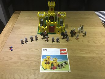 Lego-castle RARE Yellow castle