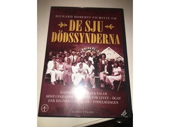 Dvd-box 8 Dvd De Sju Dödssynderna SF Film Video Drama Thriller Box