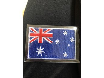 Australien flagga patch tygmärke