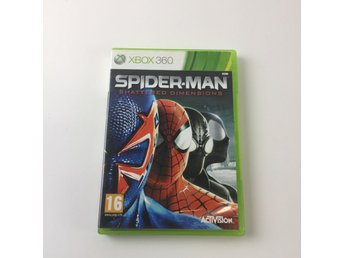 Spider-Man Shattered Dimensions, TV-Spel, Xbox 360, Action