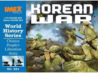 KOREA kriget ..... Chinese Infantry