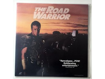 LASERDISC - The Road Warrior Oklippt! - Nyskick - Höllviken - LASERDISC - The Road Warrior Oklippt! - Nyskick - Höllviken