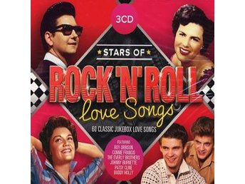 Stars of Rock'n'Roll Love Songs (3CD) Ord Pris 79 kr SALE