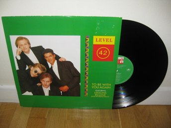 "LEVEL 42 - To be with you again 12"" maxi 1987 / Mark King"