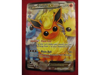 FLAREON EX FULL ART - RARE HOLO - POKEMON - HP170 - RC28/RC32 - Hörby - FLAREON EX FULL ART - RARE HOLO - POKEMON - HP170 - RC28/RC32 - Hörby