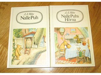 2 x Nalle Puh  A.A. Milne