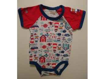 "Body ""Sailor"" stl 62, baby by Lindex. Frakt 7:-"
