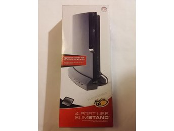 4-port USB Slimstand till Playstation 3