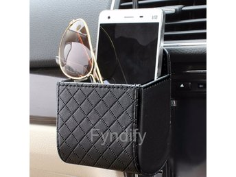 Universal Car Mobile Phone Bag Svart