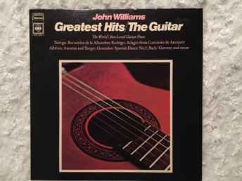 John Williams, Greates hits/The Guitar. UK Press.