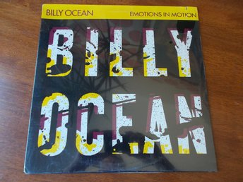 BILLY OCEAN - Emotions in motion, LP JCI USA 1986 SEALED