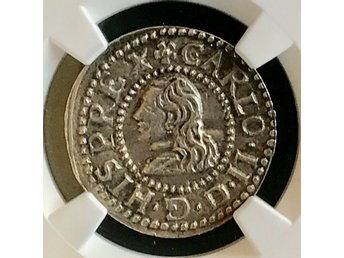SPAINIEN- 1 CROAT REAL 1674 (RARE)