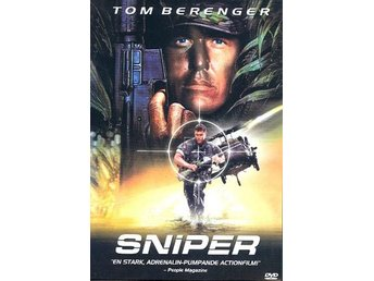Sniper DVD 1993 Krigsfilm Action Tom Behrenger