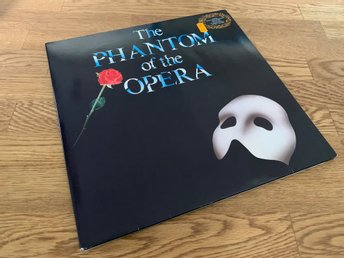 PHANTOM OF THE OPERA DUBBEL-LP 1987 M-