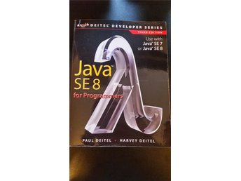 Java SE8 for Programmers.