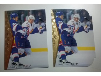 Die Cut+ base sp 1995. BRETT HULL   se info