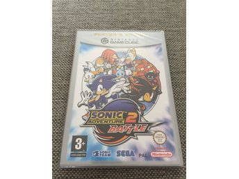 Sonic Adventure 2 Battle - Gamecube - GC - HELT NYTT! MINT!