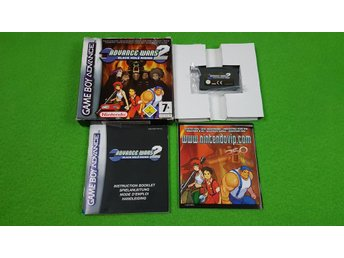 Advance Wars 2 Black Hole Rising KOMPLETT Gameboy Advance Nintendo GBA