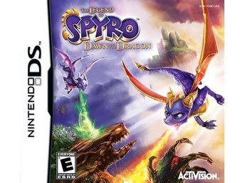 Legend of Spyro: Dawn of the Dragon - Helt nytt till Nintendo DS!!!