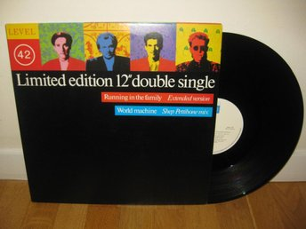 "LEVEL 42 - Limited edition 12"" double single 1987"