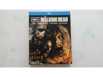 WALKING DEAD - SÄSONG 2 - BLURAY - NYSKICK!!