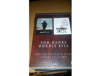 Tom Hanks Double Bill (Saving Private Ryab, Forrest Gump)  - UTGÅTT - Tom Hanks
